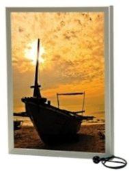 Világító plakátkeret A/2 egyoldalas 5 cm-es profillal - kifutó termék